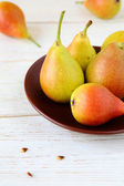 Fragrant and juicy pears — Stock Photo