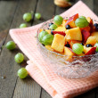 Fresh fruit salad in a bowl — Stock Photo