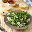 Fresh salad with pear and arugula — Stock Photo #32636331