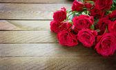 Schöner strauss rosa rosen. vintage — Stockfoto