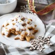 Sugar Cookies for Christmas — Stock Photo