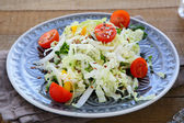 Fresh salad with Chinese cabbage — Stock Photo