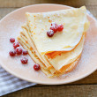 Delicate fragrant crepes to Maslenica — Stock Photo #36969863