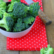 Fresh broccoli is ready for use — Foto Stock