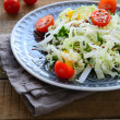 Crispy salad with vegetables — Zdjęcie stockowe