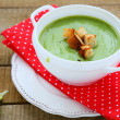 Fragrant green soup cream soup — Stock Photo #37908059