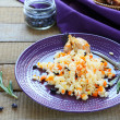 Risotto with carrots and barberry — Stock Photo #37908093