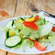 Stock Photo: Crispy vegetable salad