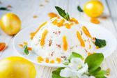 Cheese cake for Easter — Stock Photo