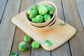 Fresh brussels sprouts — 图库照片