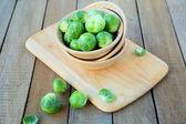 Taze brüksel lahanası — Stok fotoğraf