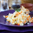 Pilaf with vegetables and barberry — Stock Photo #38829375
