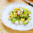 Stock Photo: Winter salad with avocado and feta