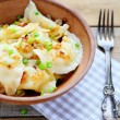 Polish pierogi with potatoes — Stock Photo #39493181