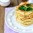 Potato pancakes — Stock Photo