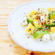 Stock Photo: Light salad with avocado and feta