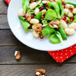 Stock Photo: Nutritious and healthy salad with beans