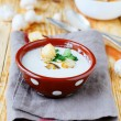 Stock Photo: Light mushroom soup with cream