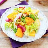 Delicious light salad — Stock Photo