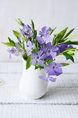 Spring bouquet on table — Foto de Stock