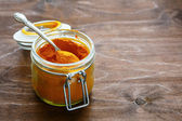 Turmeric powder - spice — Stock Photo
