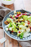 Salad with fresh pear — Foto Stock