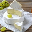Soft cheese with a white mold, camembert — Stock Photo #50684541