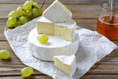 Soft cheese with a white mold, camembert — Stock Photo