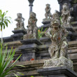 Stock Photo: Ancient god stone statue in Besakih Temple, listed to-be World