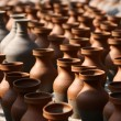 Traditional pottery craftsmanship — Stock Photo #34849061