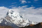 Prachtig uitzicht op annapurna bereik, himalaya, nepal — Stockfoto