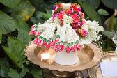 Thai jasmin wedding garland — Stock Photo