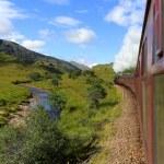 Stream train — Stock Photo