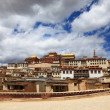 Stock Photo: Songzanlin Monastery in Zhongdi(Shangri-La), Yunnan, China