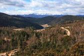 Panoramic view of Meili Snow Mountain, Yunnan, China — Stock Photo