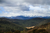 Panoramic view of Meili Snow Mountain, Yunnan, China — Stock Photo