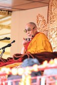 LEH, INDIA-AUGUST 5, 2012 - His Holiness the 14th Dalai Lama — Stock Photo