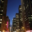 New York City by night — Stock Photo