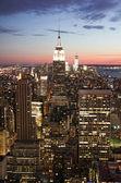 Manhattan view — Stock Photo