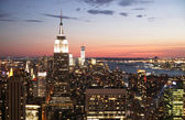 Manhattan weergave — Stockfoto