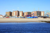 Coney island kusten — Stockfoto