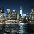New york City By night - Stock Photo