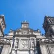 Stock Photo: Mexico City Cathedral, Zocalo, Mexico