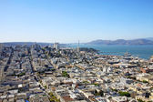Aerial view of San Francisco — Stock Photo