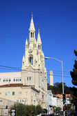 Sts. Peter and Paul Church in San Frascisco - US — Stock Photo