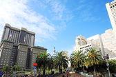 Placu union square w san francisco, california, stany zjednoczone ameryki — Zdjęcie stockowe