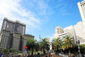 Union square in san francisco, californië, verenigde staten — Stockfoto