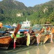 Long-boat in Thailand — Stock Photo #24993535