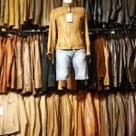 Leather jacket — Stock Photo