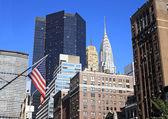 Chrysler building i new york city — Stockfoto